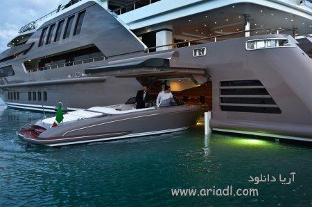 اولین قایق بادبانی با خصوصیات گاراژ