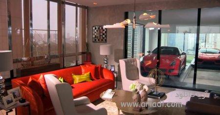 آپارتمان های برج های reignwood در سنگاپور با پارکینگ های درون خانه ای