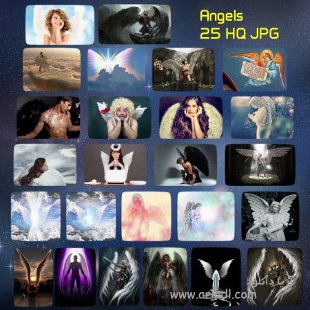 25 عکس از فرشته ها با کیفیت 6120x5264