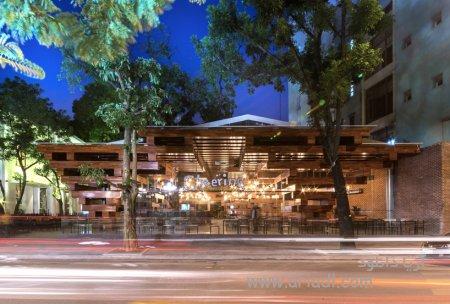 معمای رستوران درختی در پایتخت ویتنام کاری از H&P architects