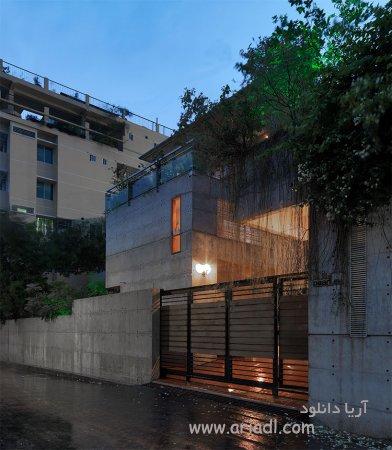 ساخت خانه خصوصی توسط shatotto به همراه استخر و باغچه