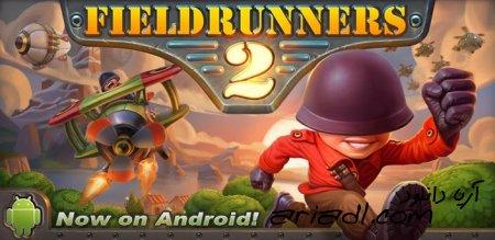 بازی اندرویدی 2 Fieldrunners به همراه دیتا