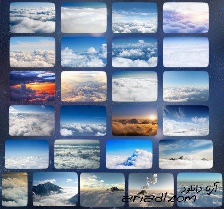 تصاویر با کیفیت از ابرها