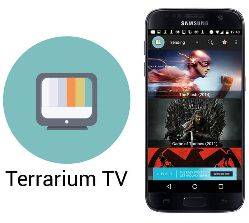 نرم افزار تماشای آنلاین فیلم - Terrarium TV 1.7.6