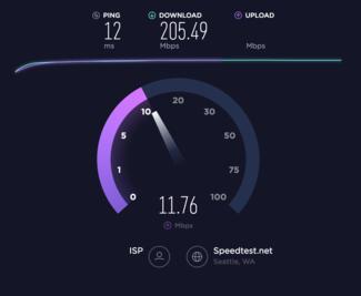 اپلیکیشن تست سرعت اینترنت