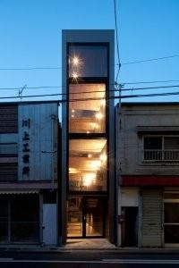 خانه ای به نازکی 1.8 متر در شهر توکیو