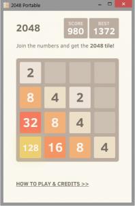دانلود بازی 2048 پرتابل (بدون نیاز به نصب) و نسخه اندروید