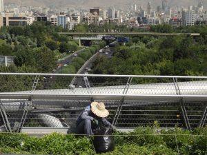پل طبیعت، پارک آب و آتش و پارک طالقانی