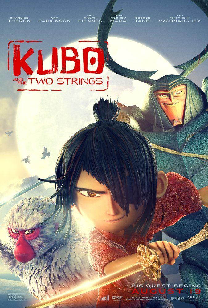 دانلود انیمیشن کوبو 2016 - Kubo and the Two Strings 2016