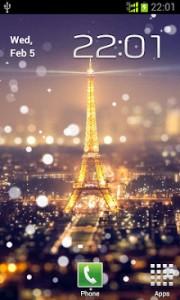 والپیپر زنده شب های پاریس