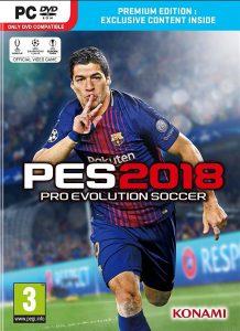 دانلود بازی پی اس ۲۰۱۸ برای کامپیوتر - pes 2018 نسخه کرک شده