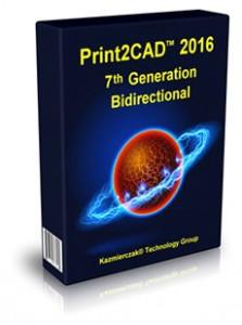 دانلود نرم افزار Print2CAD 2016 7th Generation 14.51.0.0