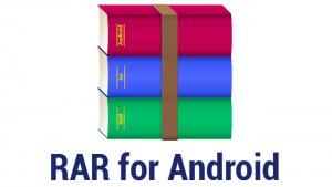 مدیریت فایل های فشرده شده در اندروید - RAR for Android v5.50