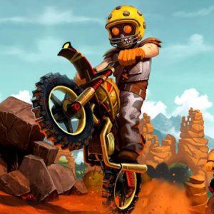بازی موتور تریل Trials Frontier V5.0.0 به همراه دیتا