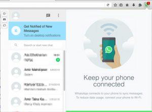 افزونه فایرفاکس پیغام رسان WhatsApp Messenger