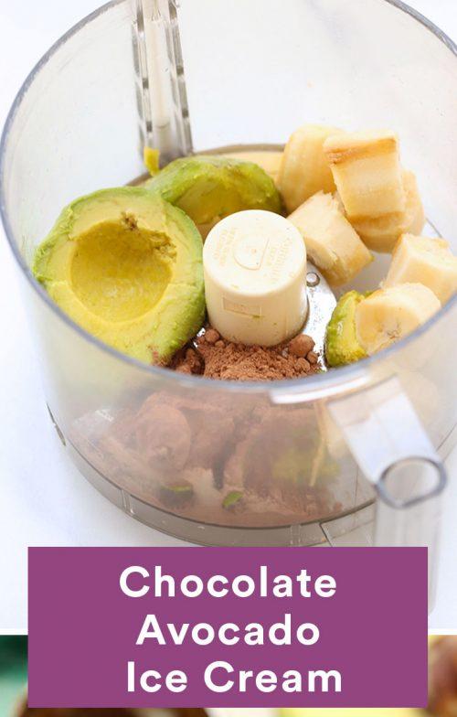 آووکادو شکلات
