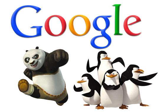 پاندا و پنگوئن