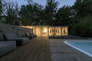 طراحی مجدد استخر خانگی توسط Hammer architects
